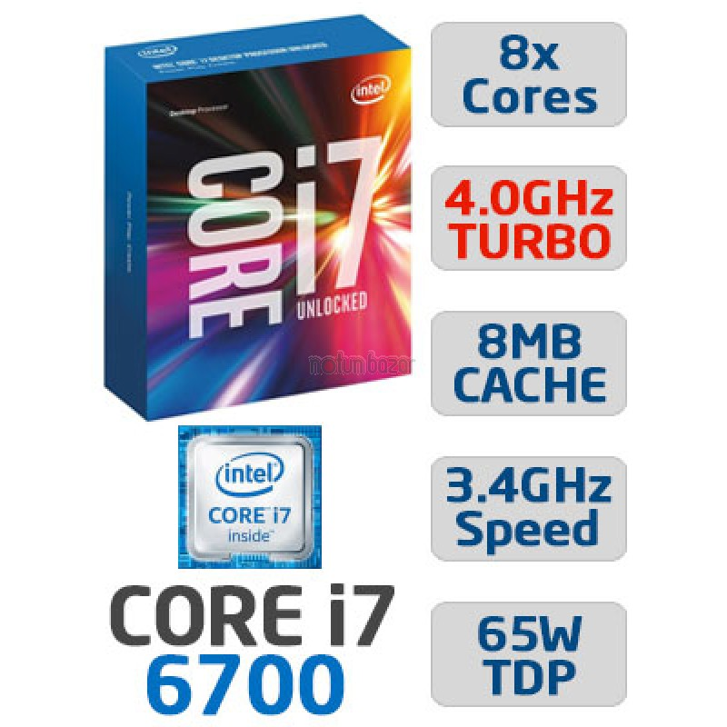 CPU intel 6th Gen Core i7-6700