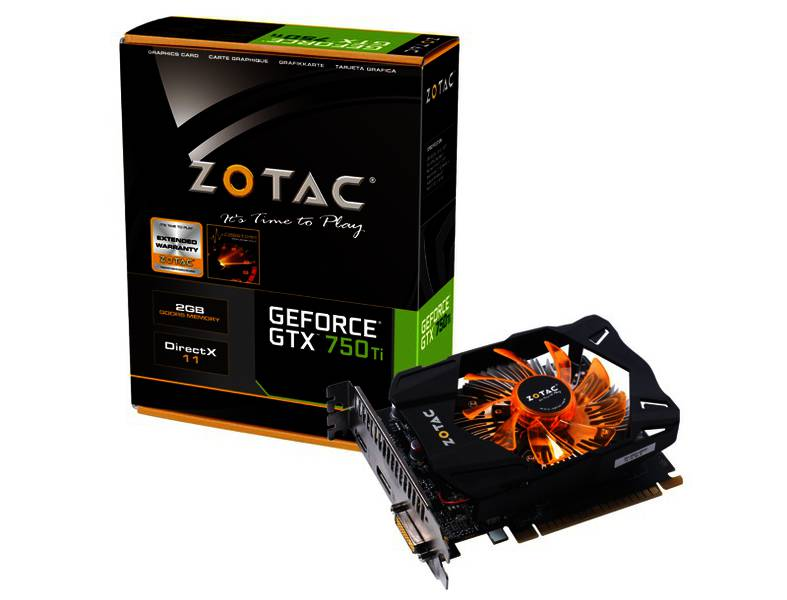 GTX 750 Ti ( 1gb - D5 ) full box
