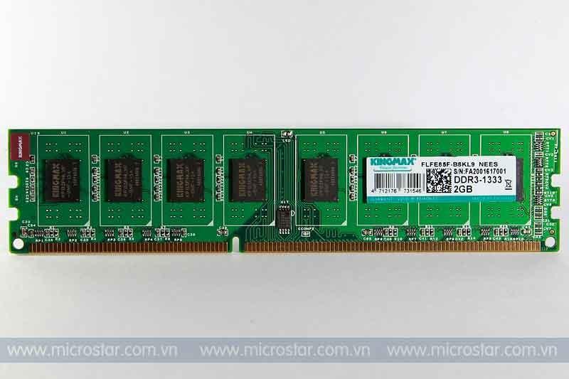 Mới Về Giá Sốc RAM KINGMAX DDR3 2GB 1333Mhz