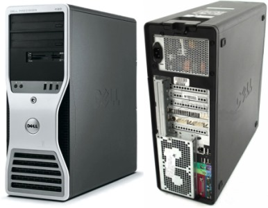 Dell Workstation 490 Chip Xeon
