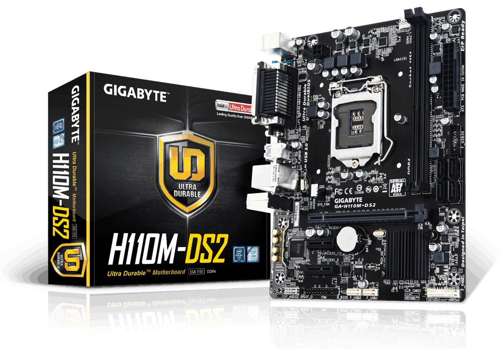 Main Gigabyte H110M-DS2 socket 1151
