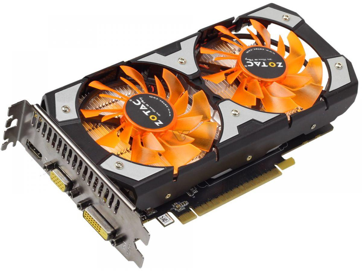 Zotac GTX 750Ti ( 2gb - d5 ) - 2 fan